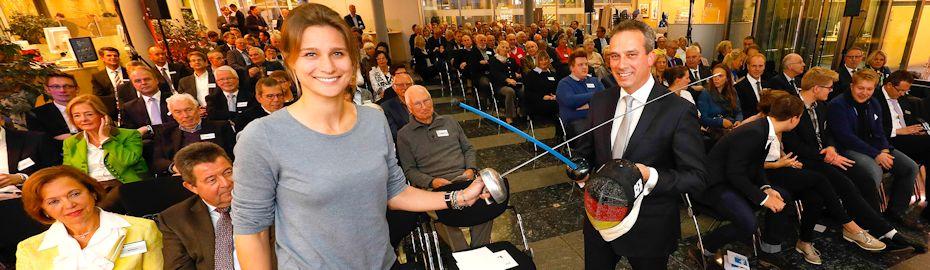 Olympiasiegerin Britta Heidemann zu Gast beim Herbstgespräch in Unna