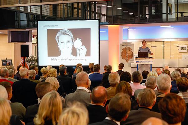 Britta Heidemann zu Gast beim Herbstgespräch in Unna