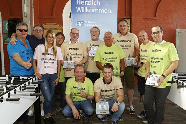 10. Charity Kickerturnier in Castrop-Rauxel