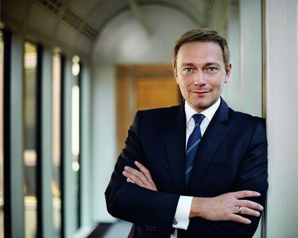 Christian Lindner beim Wirtschaftsgespräch 2016 mit Livestream