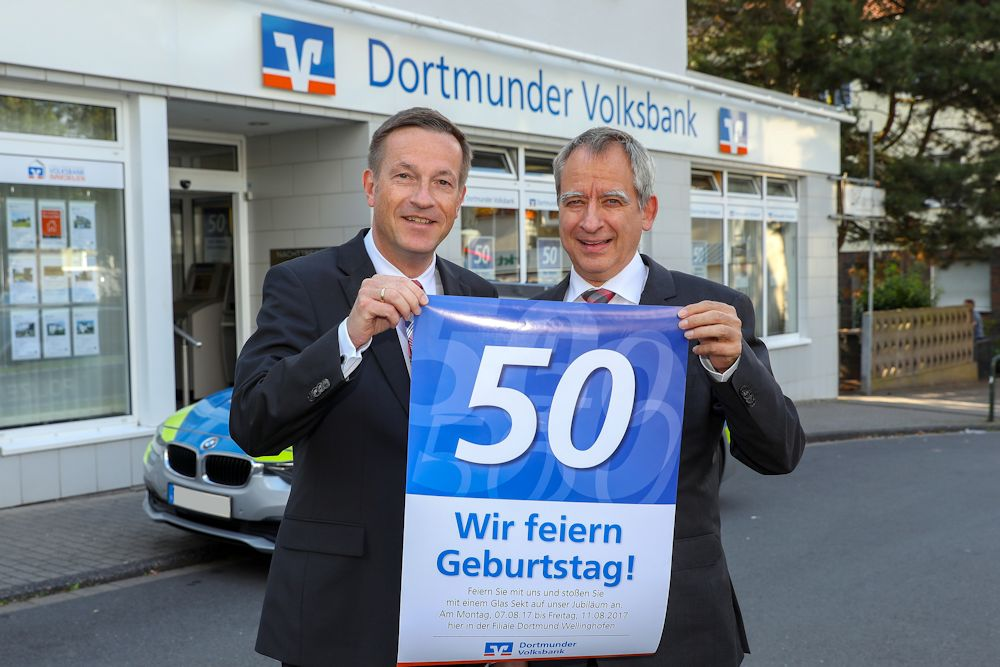 Filiale in Wellinghofen feiert 50-jähriges Jubiläum