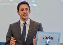 Vortrag zum Thema Live-Hacking mit Florian Demaku