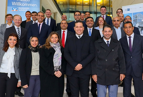 Ägyptische Banker zu Gast in Dortmund
