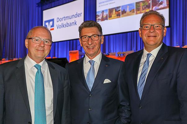 Neuer Aufsichtsratmitglieder der Dortmunder Volksbank