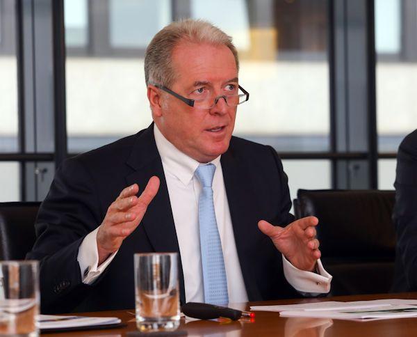 Martin Eul bei der Bilanzpressekonferenz 2018