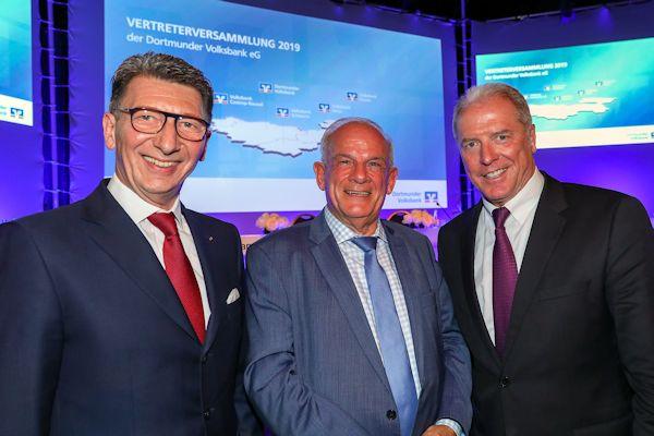 Vertreterversammlung Dortmunder Volksbank 2019 mit Peter Hahne