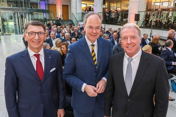 Christoph Eichhorn beim Wirtschaftsgespräch 2019