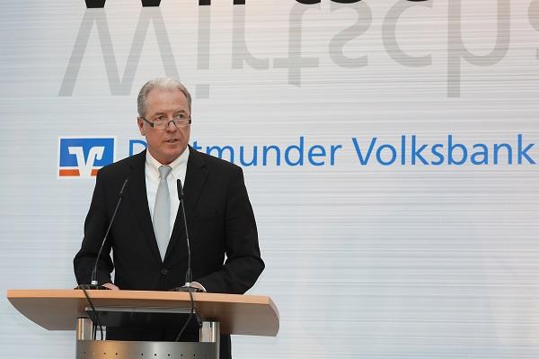 Martin Eul, Vorstandsvorsitzender der Dortmunder Volksbank