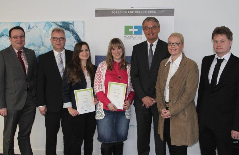 Deutschlandstipendien für zwei HSHL-Studentinnen