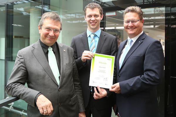 Spende für die Fachhochschule Dortmund