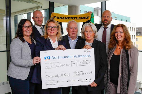 Unterstützung für den den Freundeskreis des Städtischen Institutes für Erzieherische Hilfen e.V. , den Bananenflanke Dortmund e.V. und die Bildungsstiftung Hörde