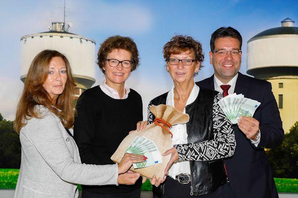 Unterstützung für den CVJM Heessen, das zzp Hamm und die Lebenshilfe Hamm