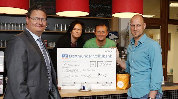 Dortmunder-Volksbank-Stiftung unterstützt Dortmunder Aidshilfe