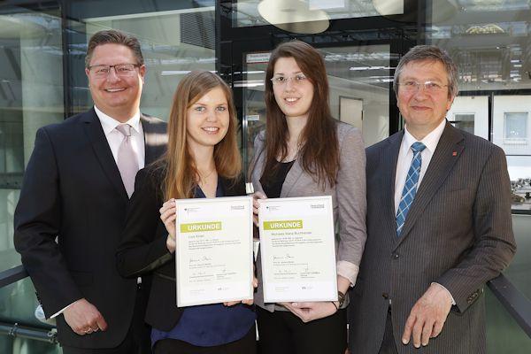 Dortmunder Volksbank Stiftung unterstützt Fachhochschule Dortmund