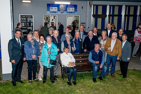 Spende für 50 Jahre Mitgliedschaft in Hamm