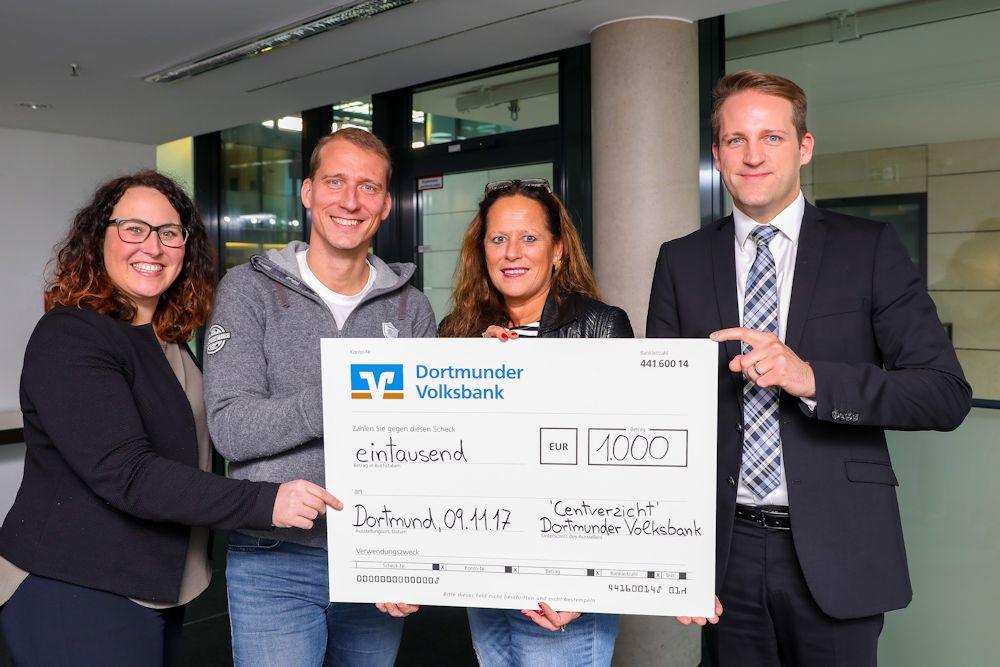 Spenden an das Kinderschutz-Zentrum Dortmund und den St- Vincenz Jugendhilfe-Zentrum e.V.