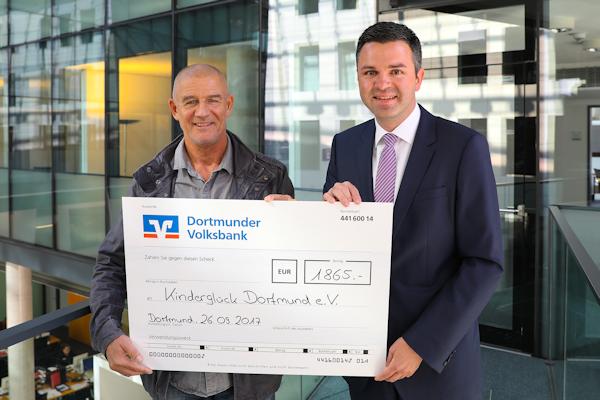 Spendenübergabe Kinderglück e.V. Dortmund