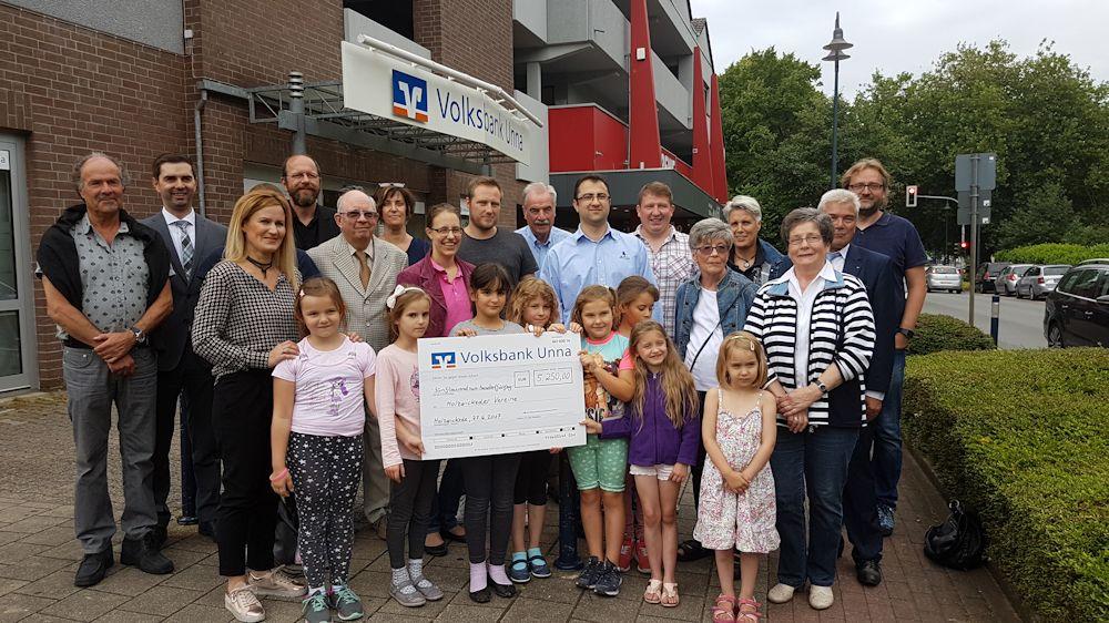 Spendenübergabe an 9 Vereine in Holzwickede