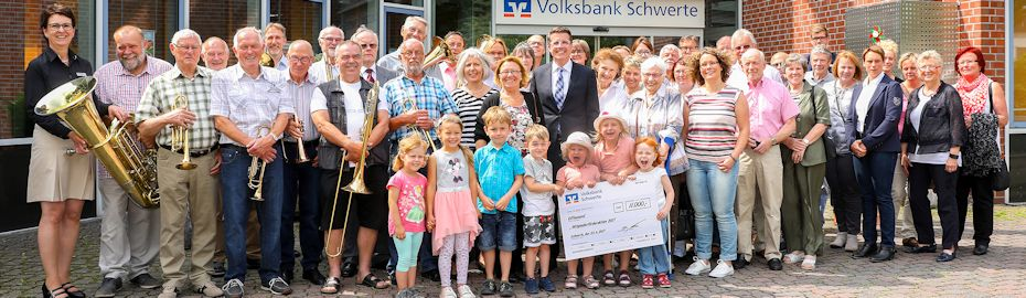 Spendenübergaben der Mitglieder-Förderaktion 2017 in Schwerte