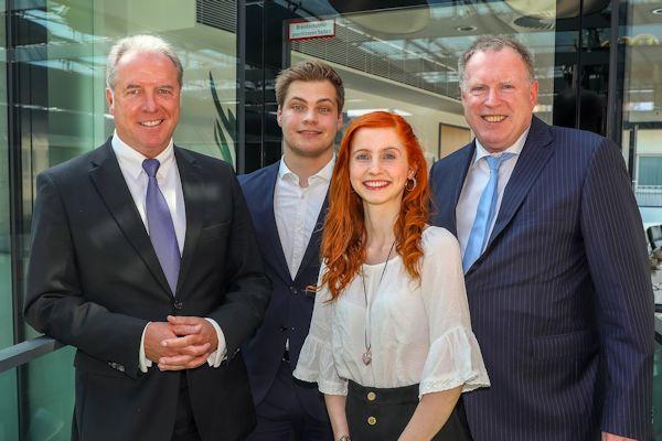 Dortmunder Volksbank Stiftung unterstützt ISM-Studierende