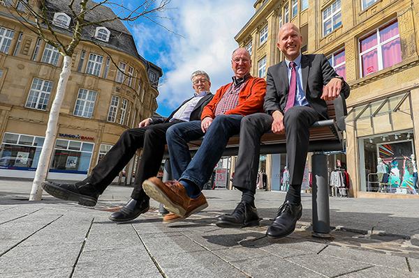 Bank für 50 Jahre Mitgliedschaft in Castrop-Rauxel