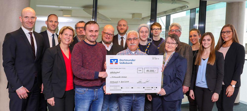 Spende für 10 gemeinnützige Projekte in Dortmund