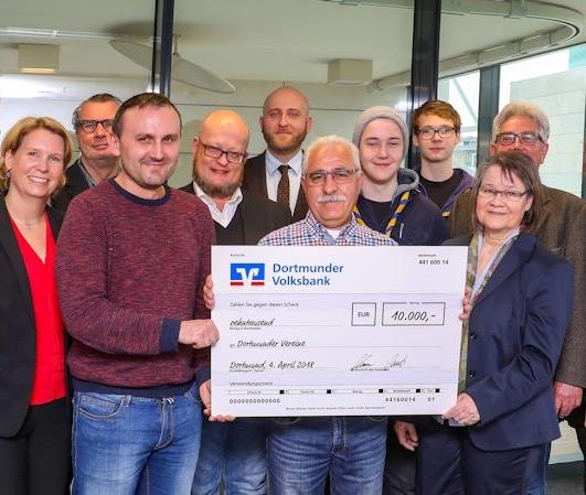 Spende für Projekte in Dortmund