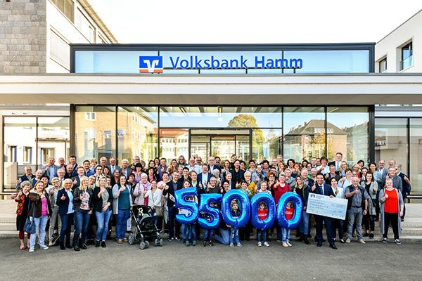 Spendenübergabe in Hamm